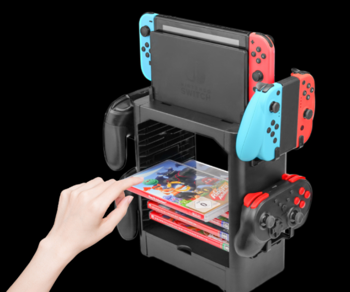 one stop storage stand for switch
