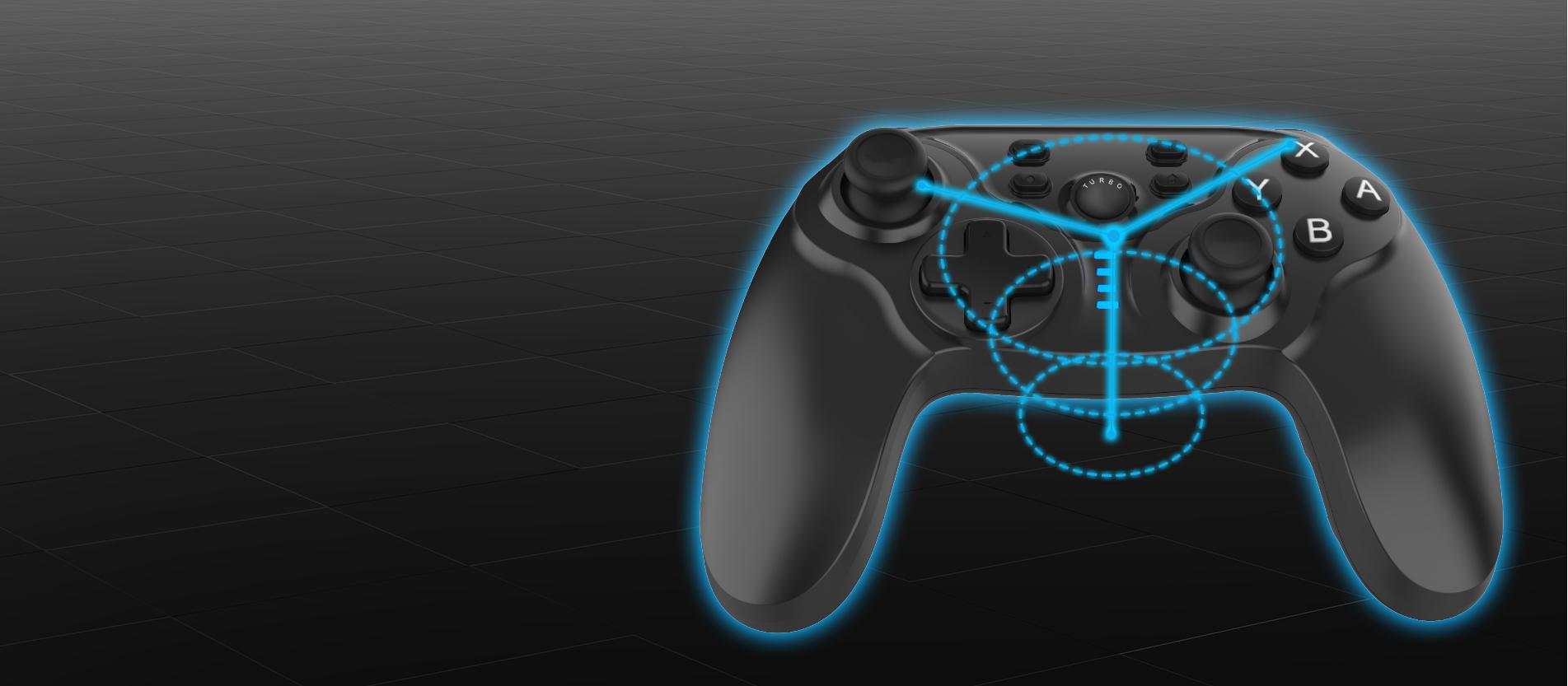 wireless gamepad for switch
