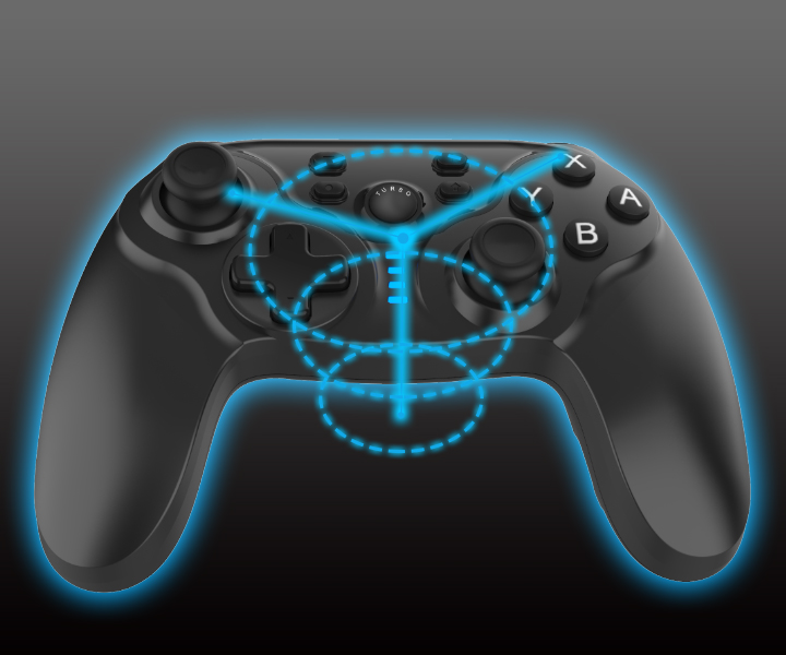 wirless gamepad for switch