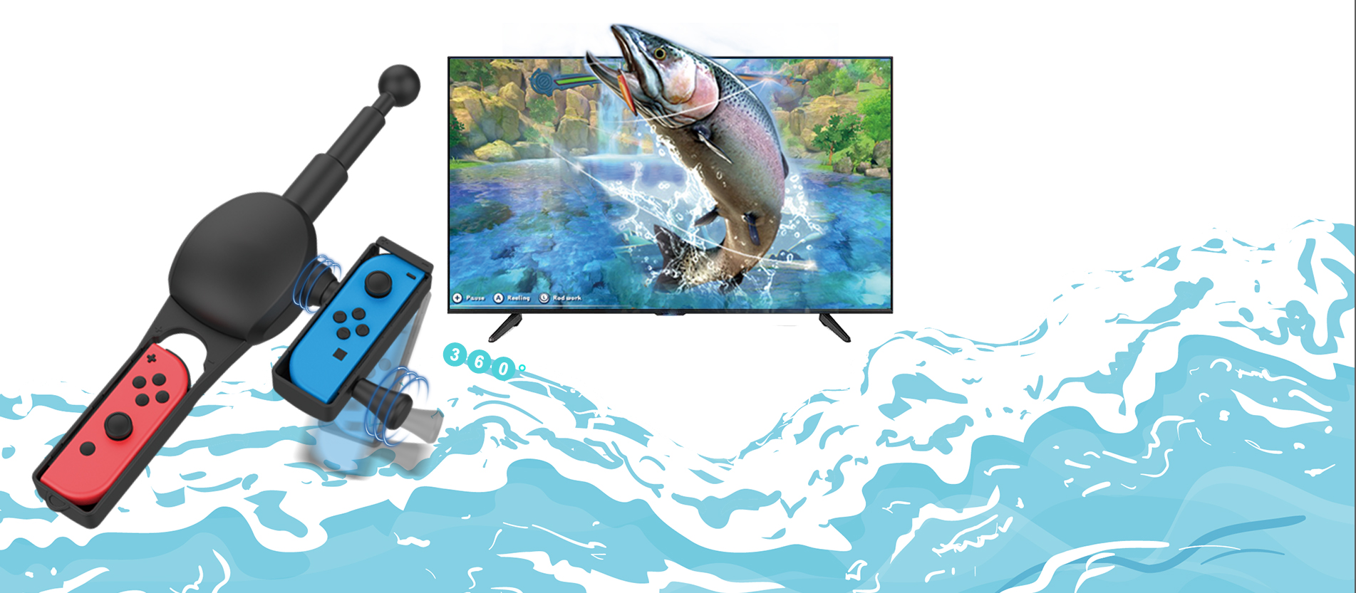 fishing rod for switch all fishing games
