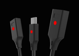 trio cable for switch