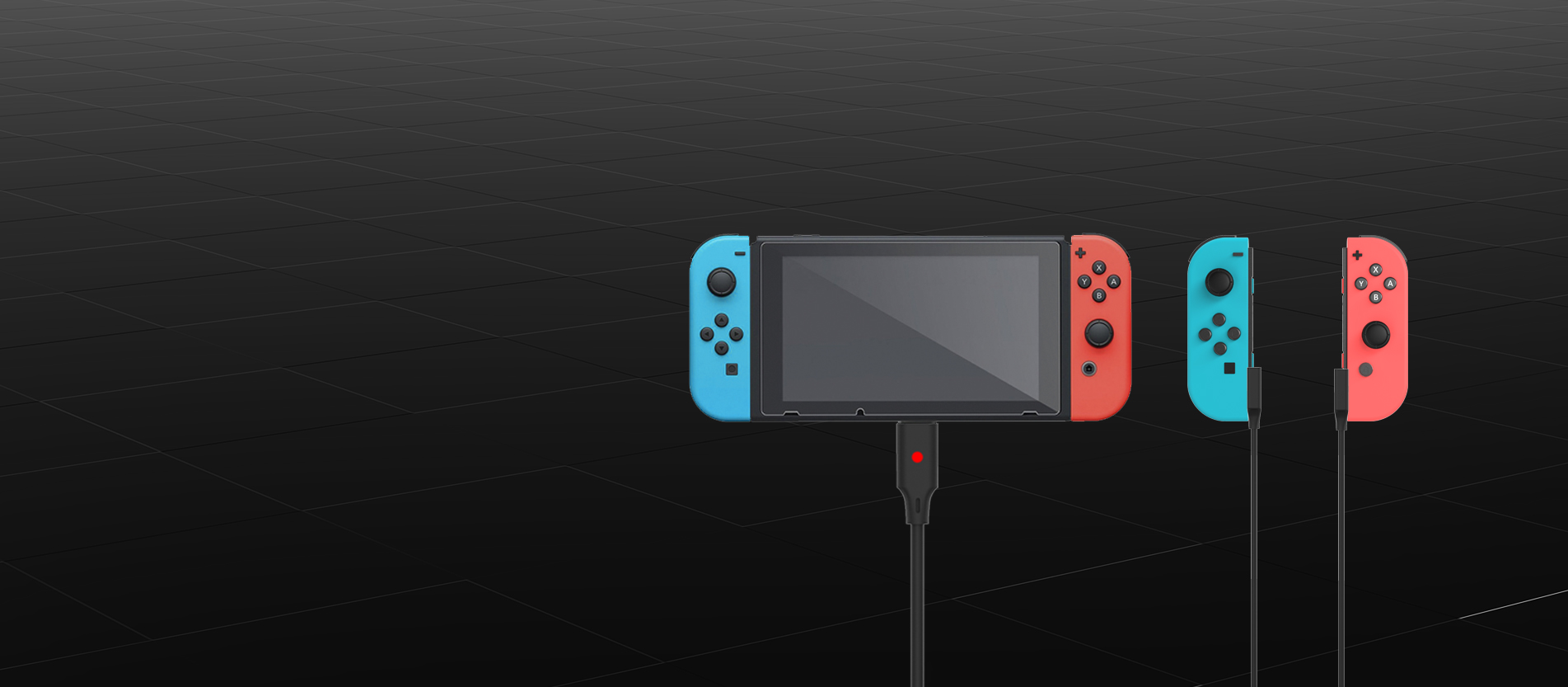 2 joycon charging cable