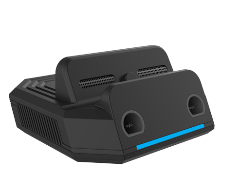 portable tv dock with gc port for switch